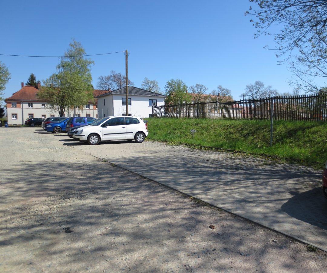 """Stellplatz """"Am Jahnplatz"""" in Leubnitz (Eisenbahnersiedlung)"""